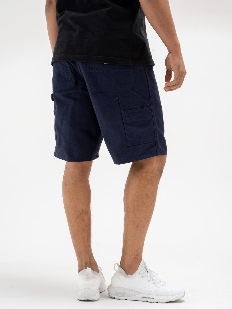 Krótkie Spodenki Jeansowe Carhartt WIP Single Knee Dearborn Organic Cotton Granatowe