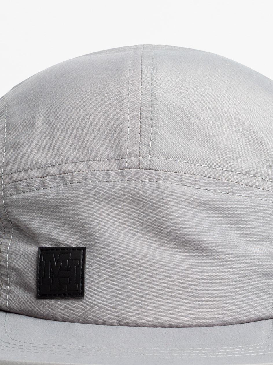 Small MH Leather 5 Panel Grey