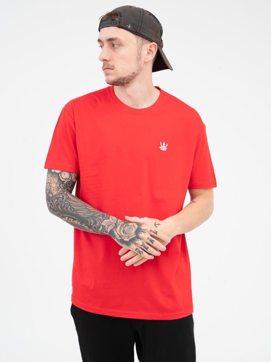 Koszulka Z Krótkim Rękawem Jigga Wear Mini Crown Czerwona