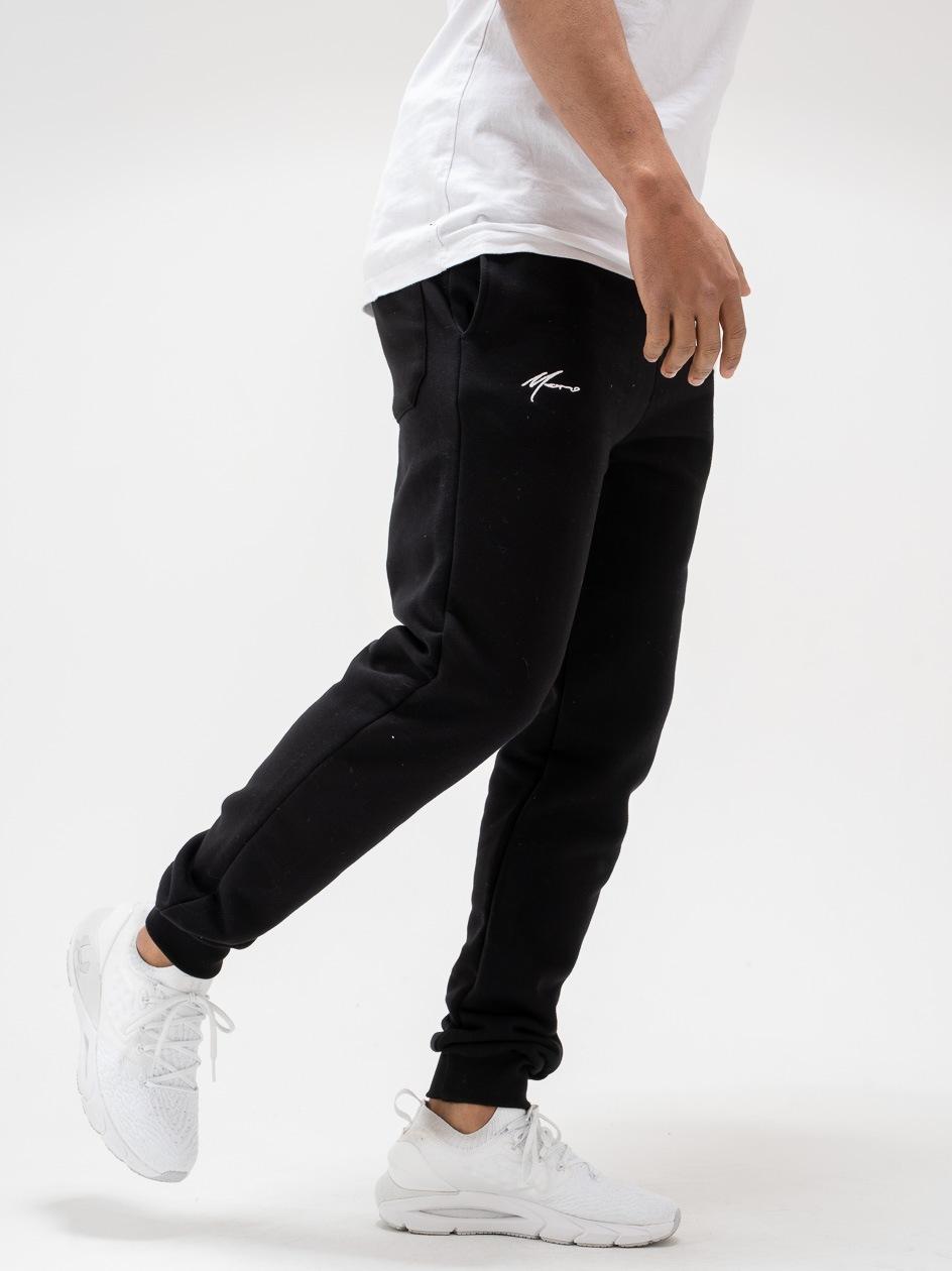 Spodnie Dresowe Moro Sport Mini Paris Czarne