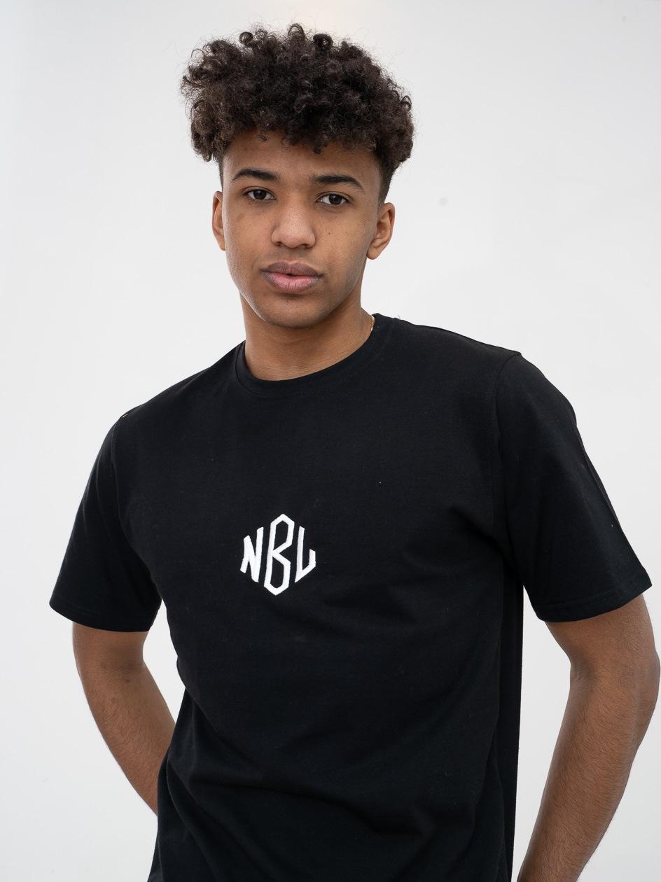 Koszulka Z Krótkim Rękawem New Bad Line Romb Czarna