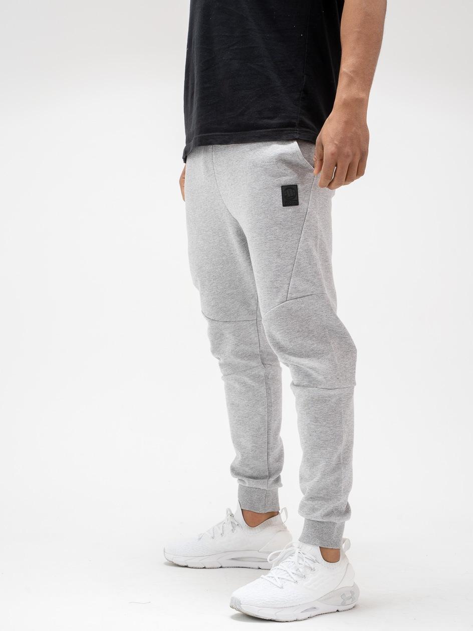 Spodnie Dresowe Pitbull West Coast Clanton Szare
