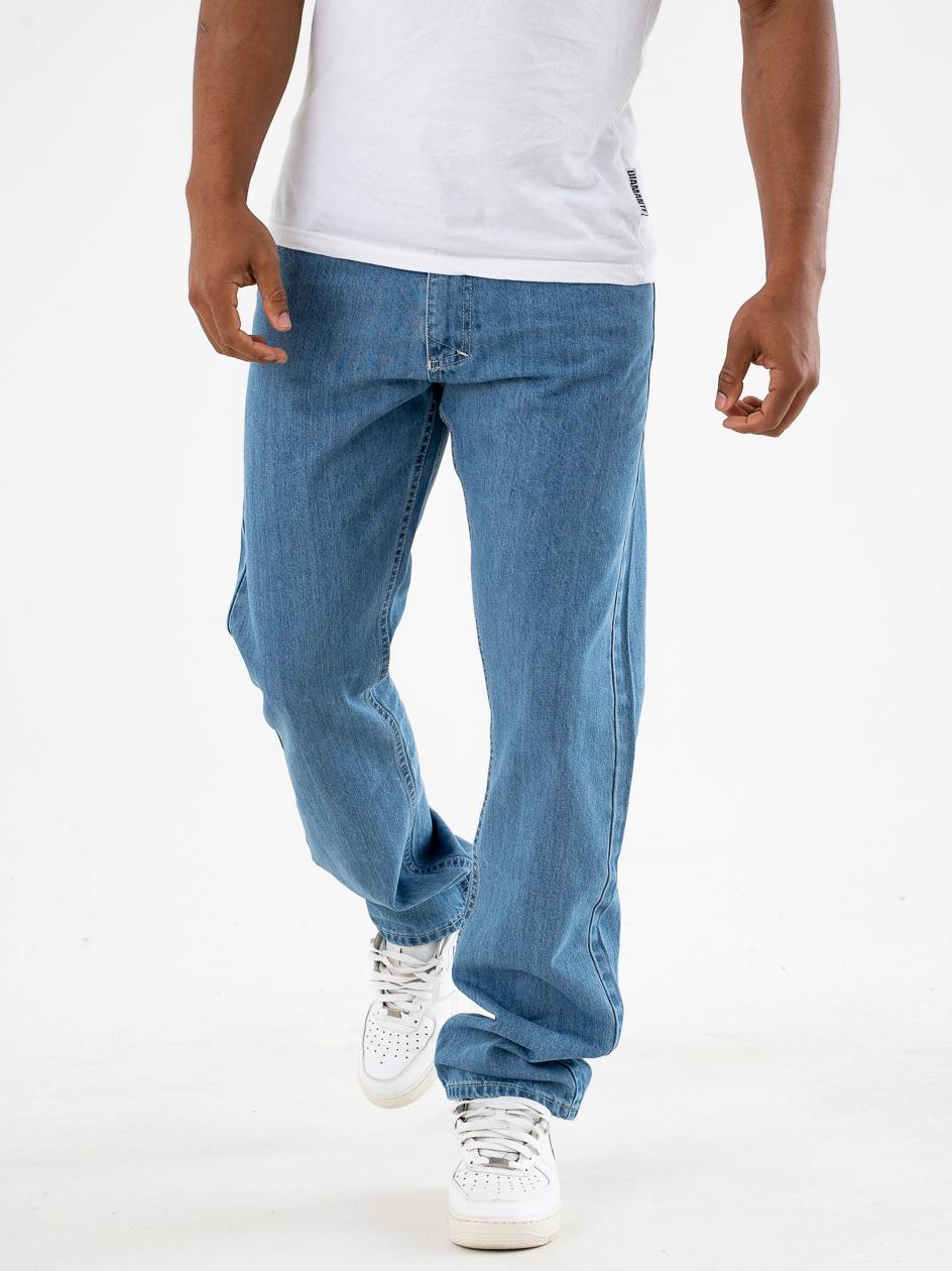 Spodnie Jeansowe Mass Base Jasne Niebieskie