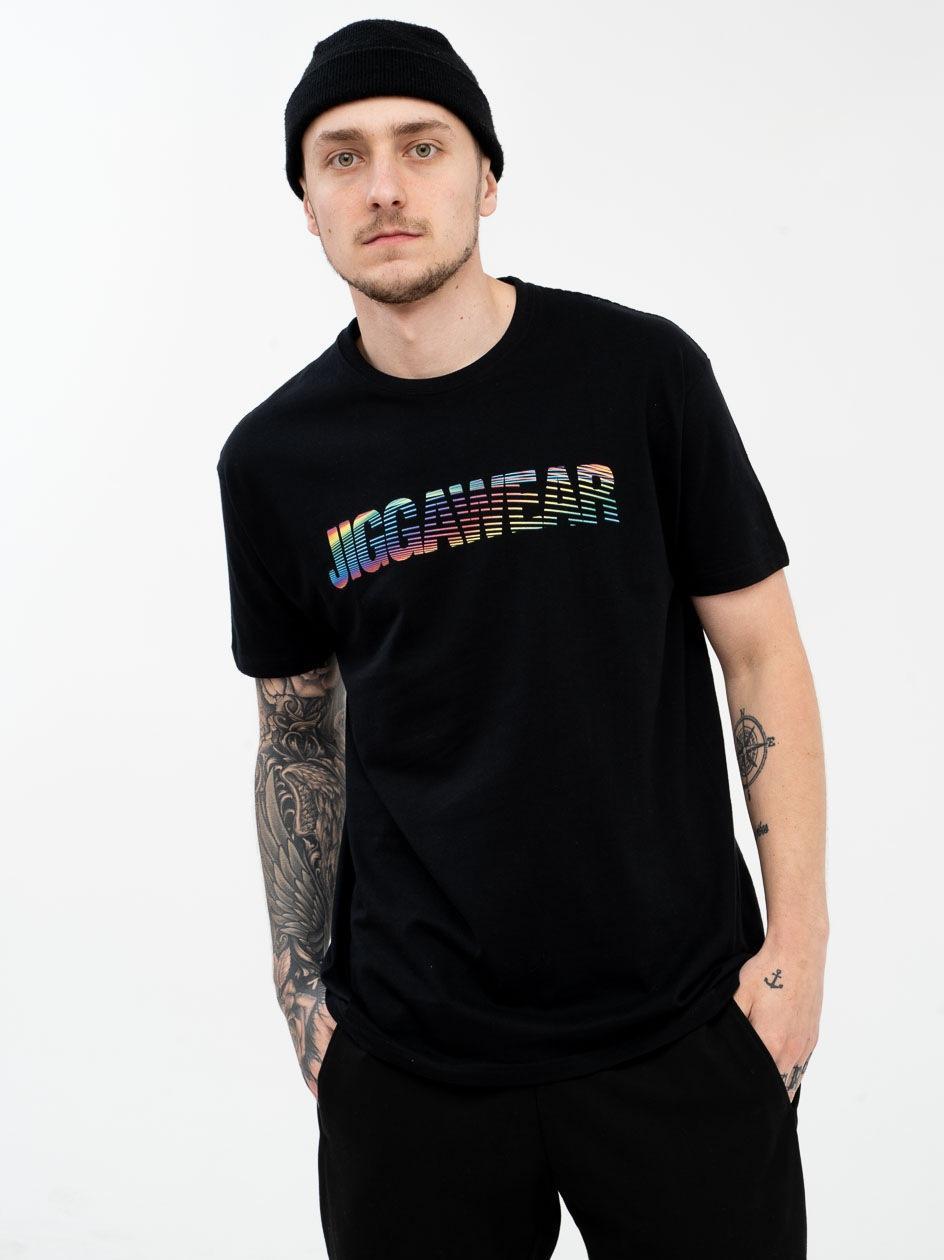 Koszulka Z Krótkim Rękawem Jigga Wear Name Multi Czarna