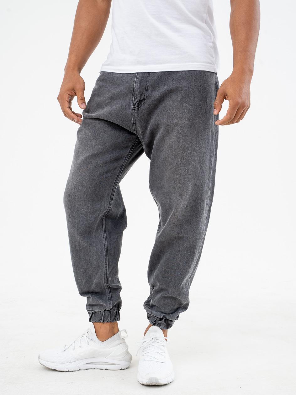 Spodnie Jeansowe Jogger Breezy Classic Czarne / Szare