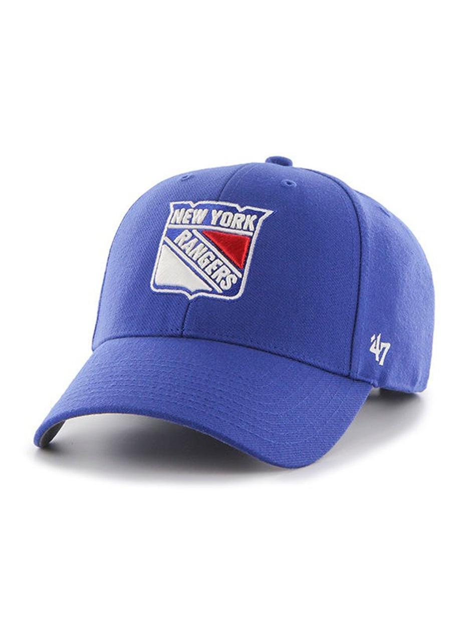 Czapka Z Daszkiem Dad Hat 47 Brand New York Rangers MVP Niebieska
