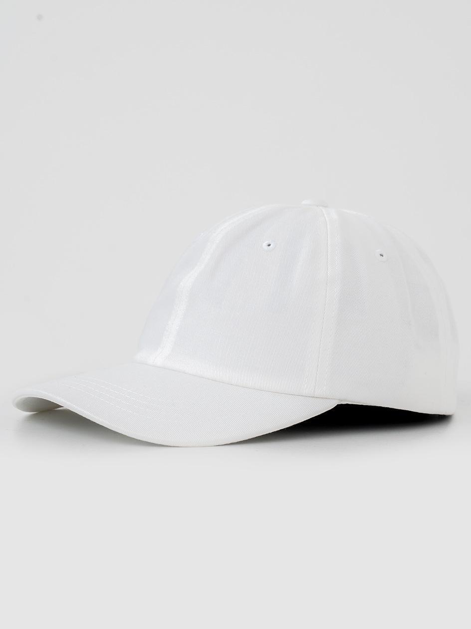 Low Profile Cotton Twill Biała