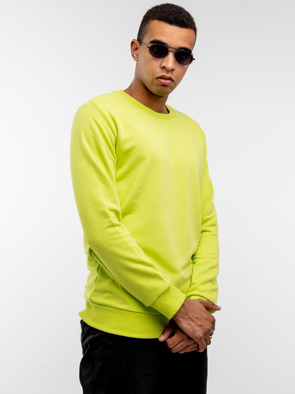 Bluza Bez Kaptura Breezy Classic Limonkowa