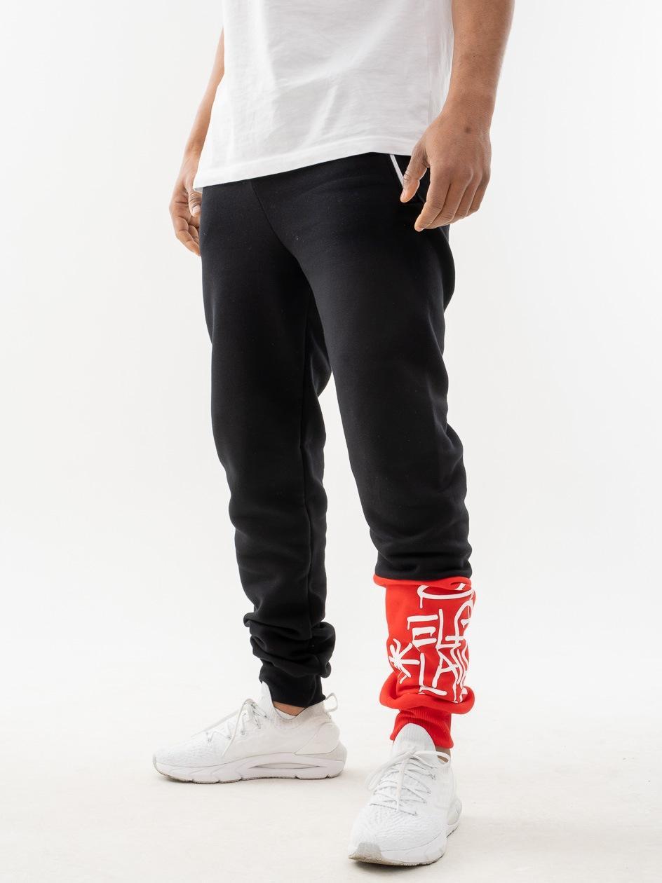 Spodnie Dresowe Fit Dirty Tag Czarne
