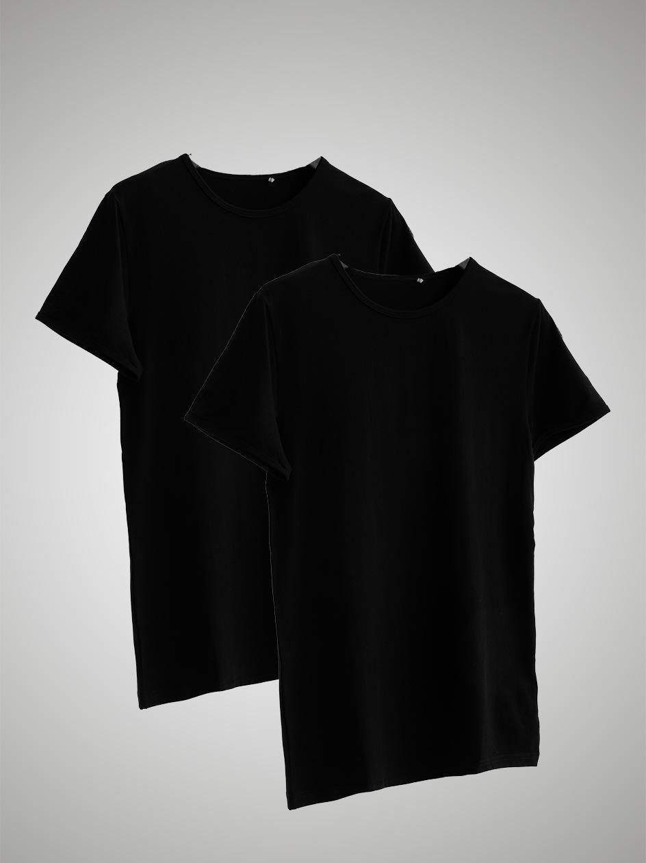 Zestaw 2 T-Shirtów 4F Clear Czarny