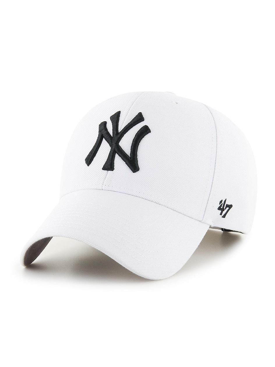 Czapka Z Daszkiem Dad Hat 47 Brand New York Yankees MLB MVP Snapback Biała