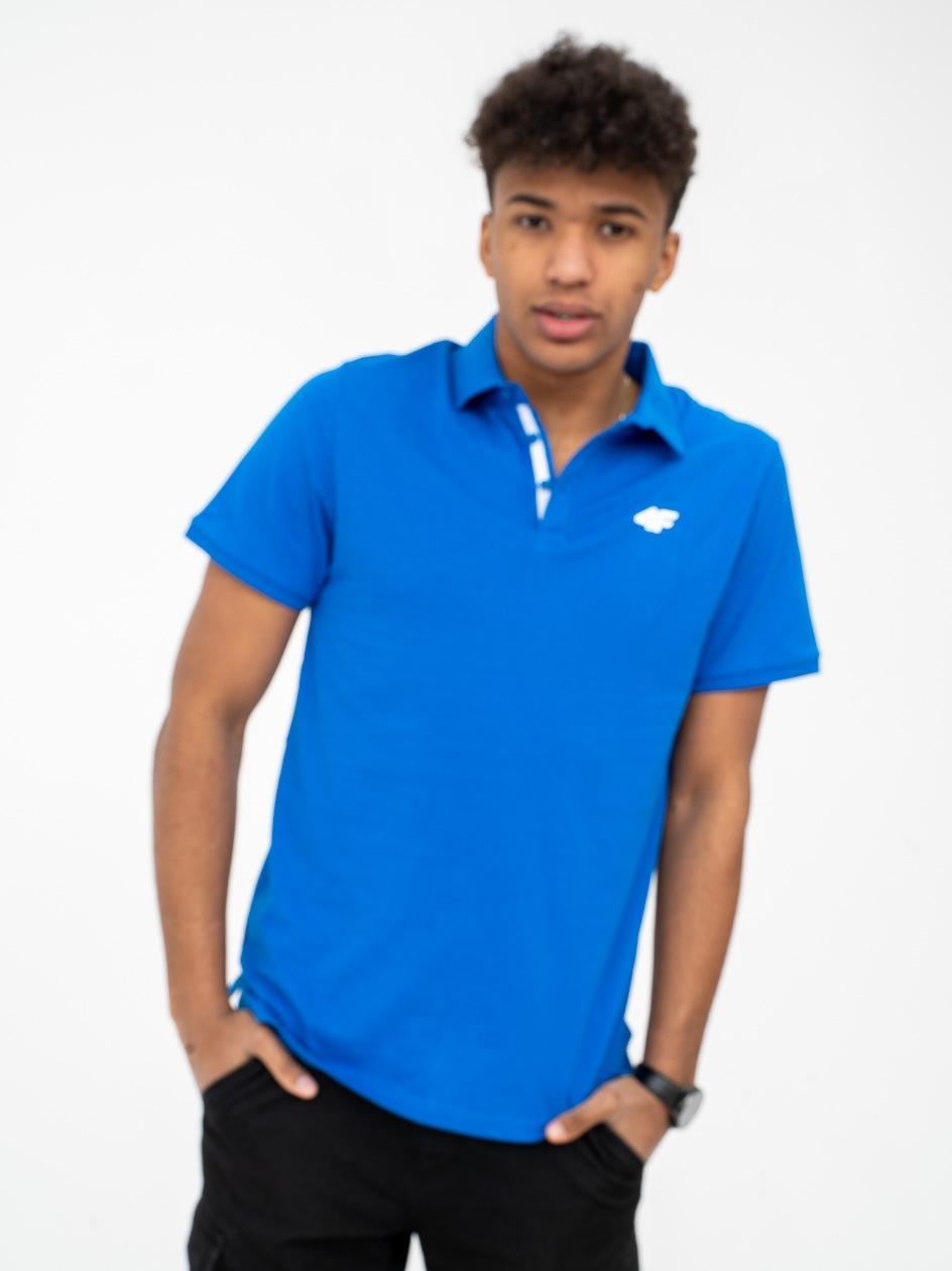 Koszulka Polo 4F Classic Niebieska