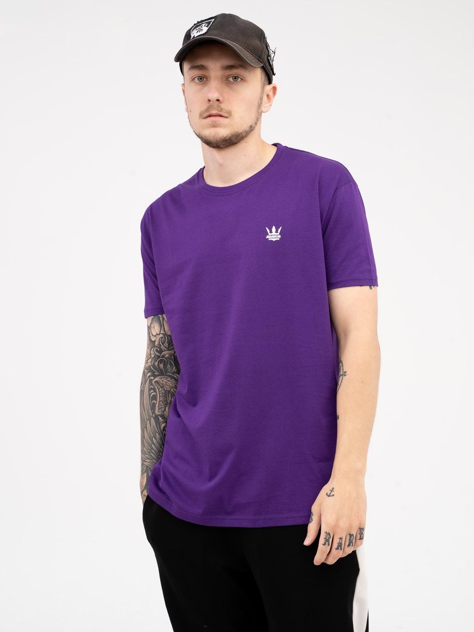 Koszulka Z Krótkim Rękawem Jigga Wear Mini Crown Fioletowa