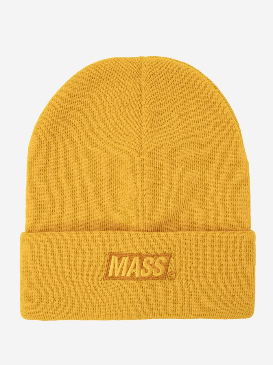 Czapka Zimowa Mass Minibox Cuff Żółta