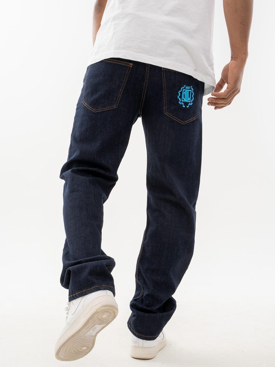 Spodnie Jeansowe Regular DIIL Laur Granatowe