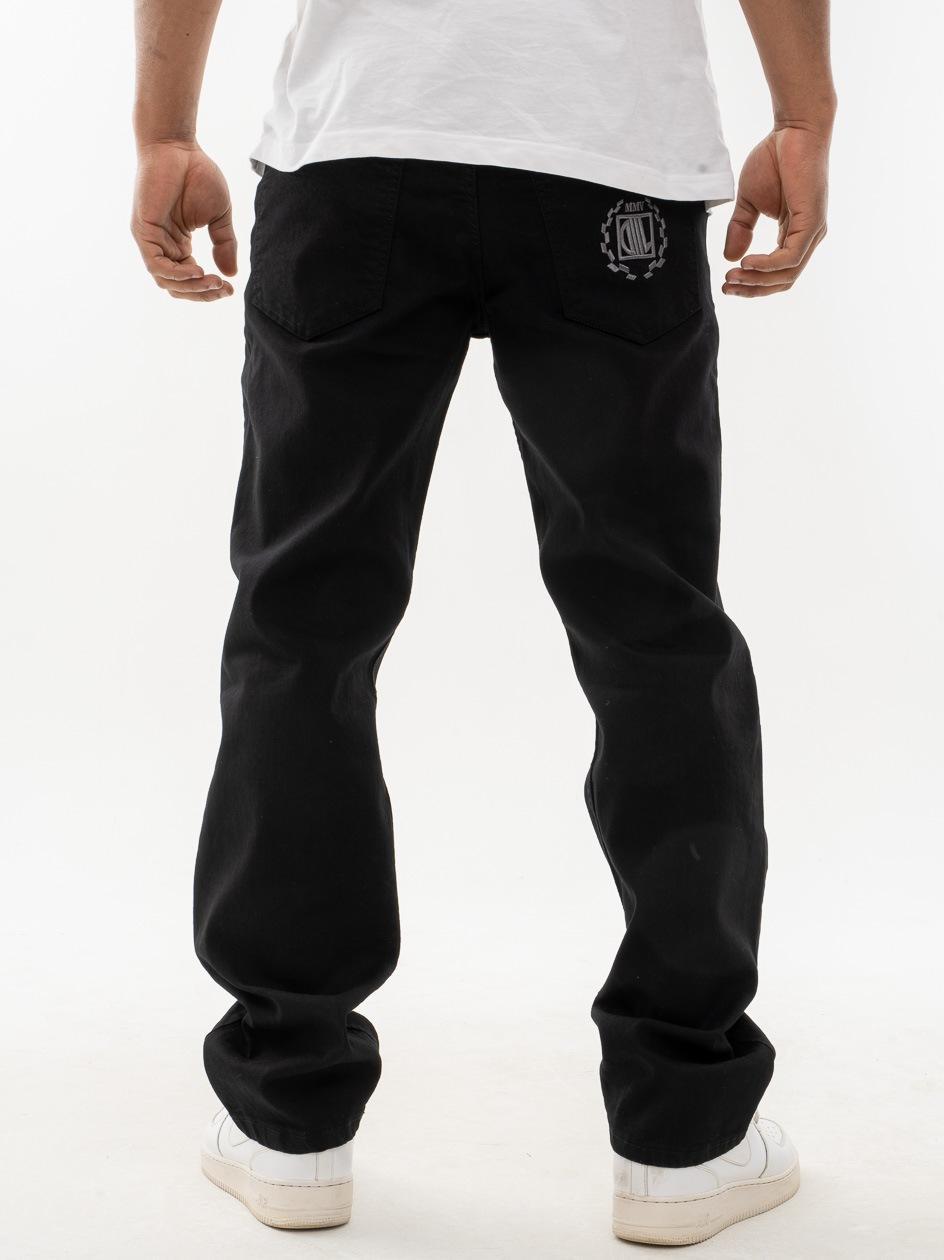 Spodnie Jeansowe Regular DIIL Laur Czarne
