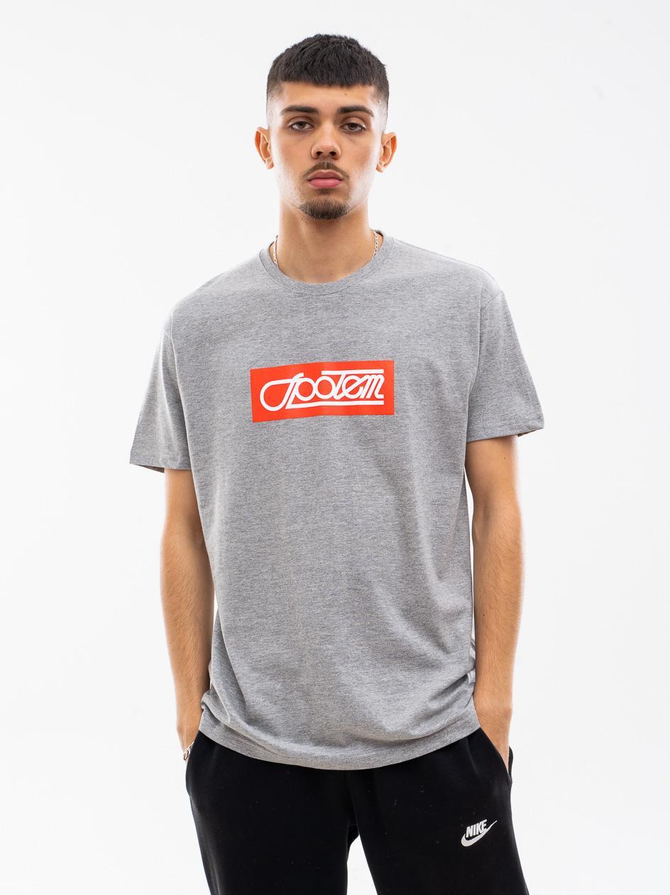 Koszulka Z Krótkim Rękawem UrbanCity x Społem Box Szara