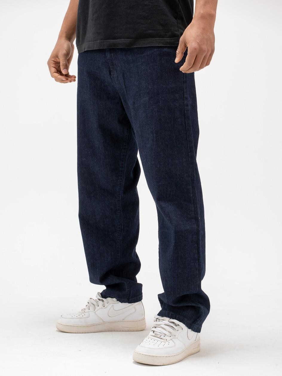 Spodnie Jeansowe Baggy SSG Classic Ciemne Niebieskie