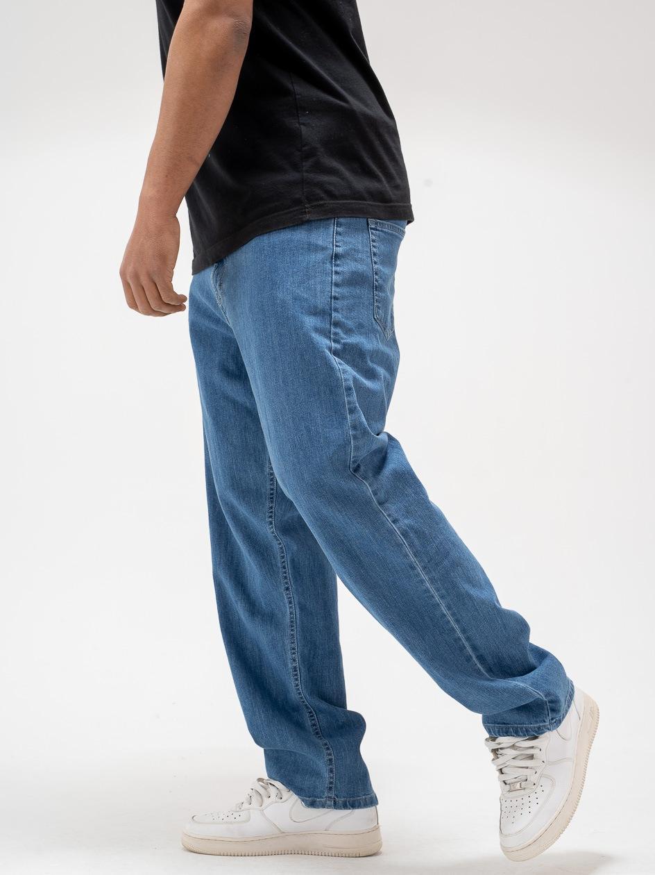 Spodnie Jeansowe Baggy SSG Classic Jasne Niebieskie