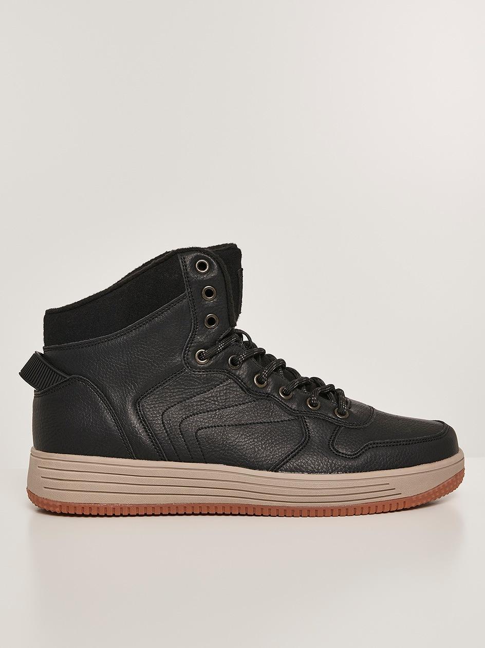Buty Zimowe Urban Classics High Top Winter Sneaker TB2967 Czarne