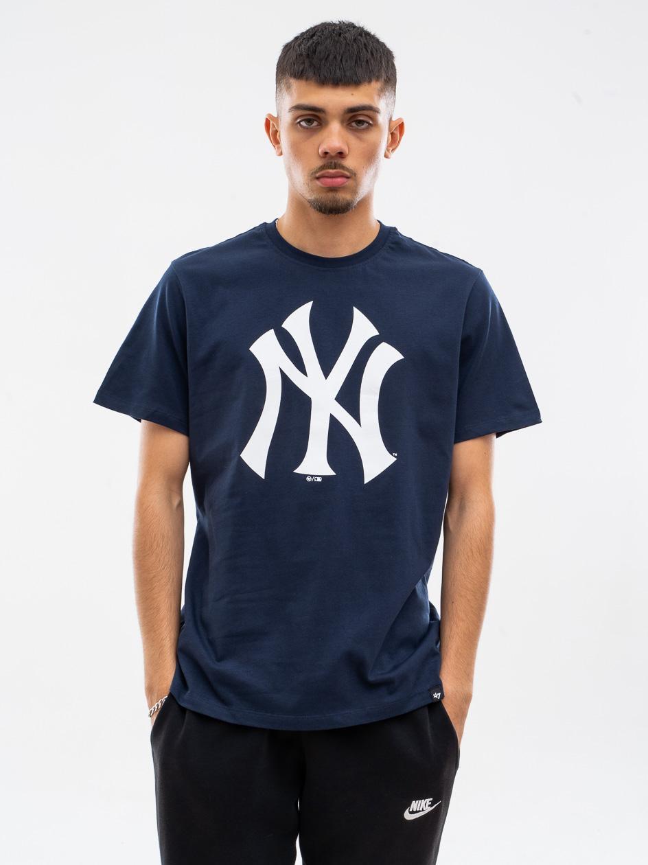 Koszulka Z Krótkim Rękawkiem 47 Brand New York Yankees Imprint Echo Granatowa
