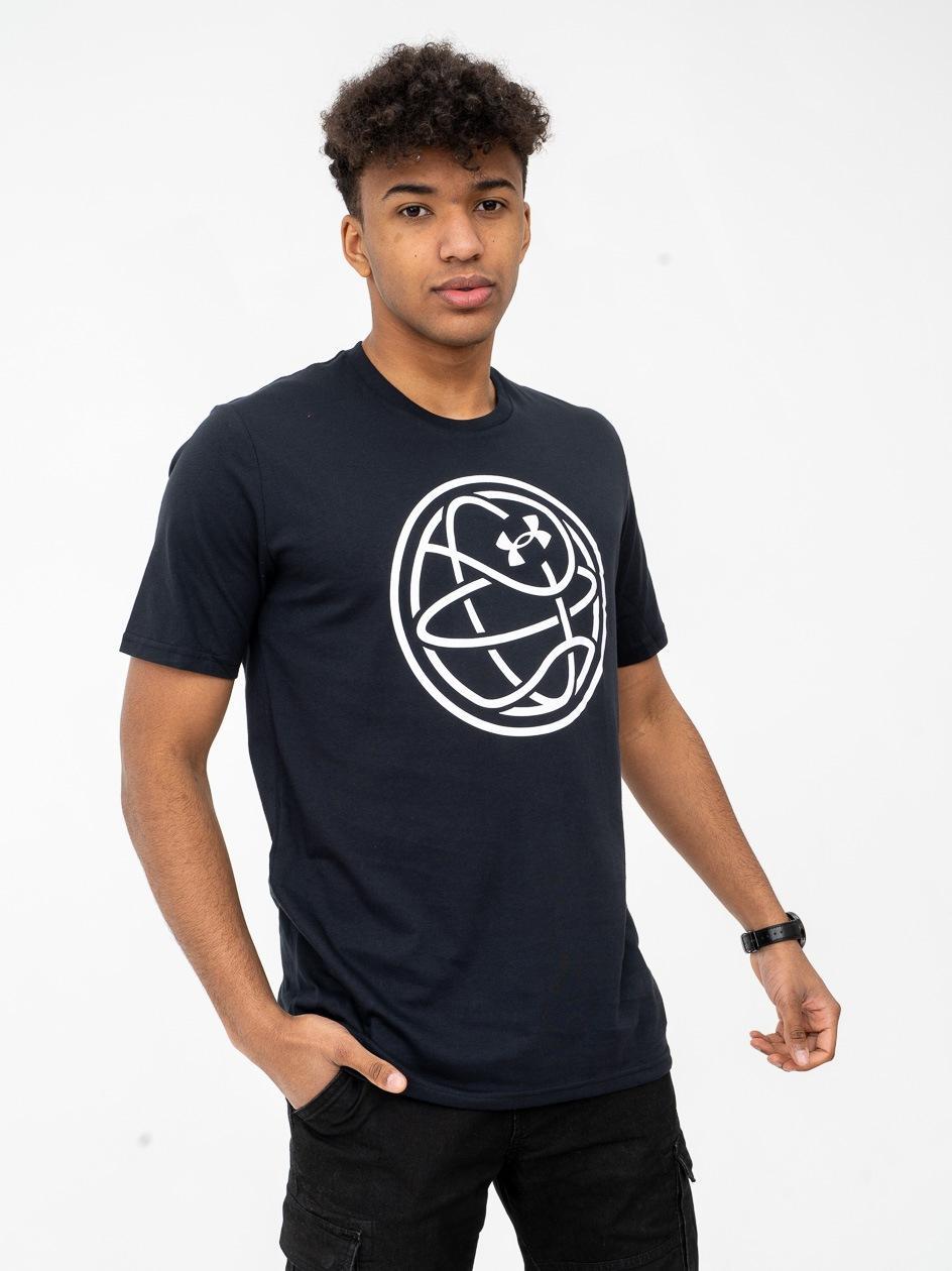 Koszulka Z Krótkim Rękawem Under Armour Hoops Icon Czarna