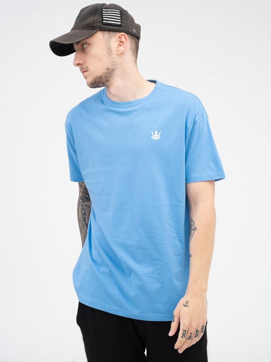 Koszulka Z Krótkim Rękawem Jigga Wear Mini Crown Niebieska