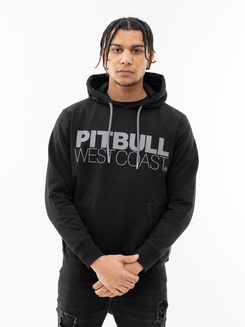 Bluza Z Kapturem Pitbull West Coast TNT Czarna
