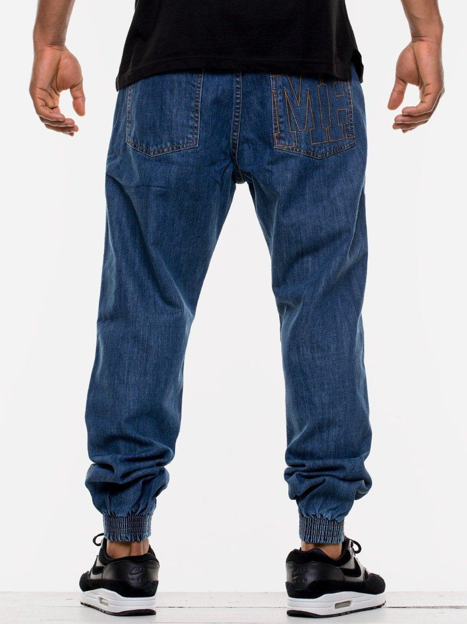MH Stitch Regular Jogger Jeans Blue