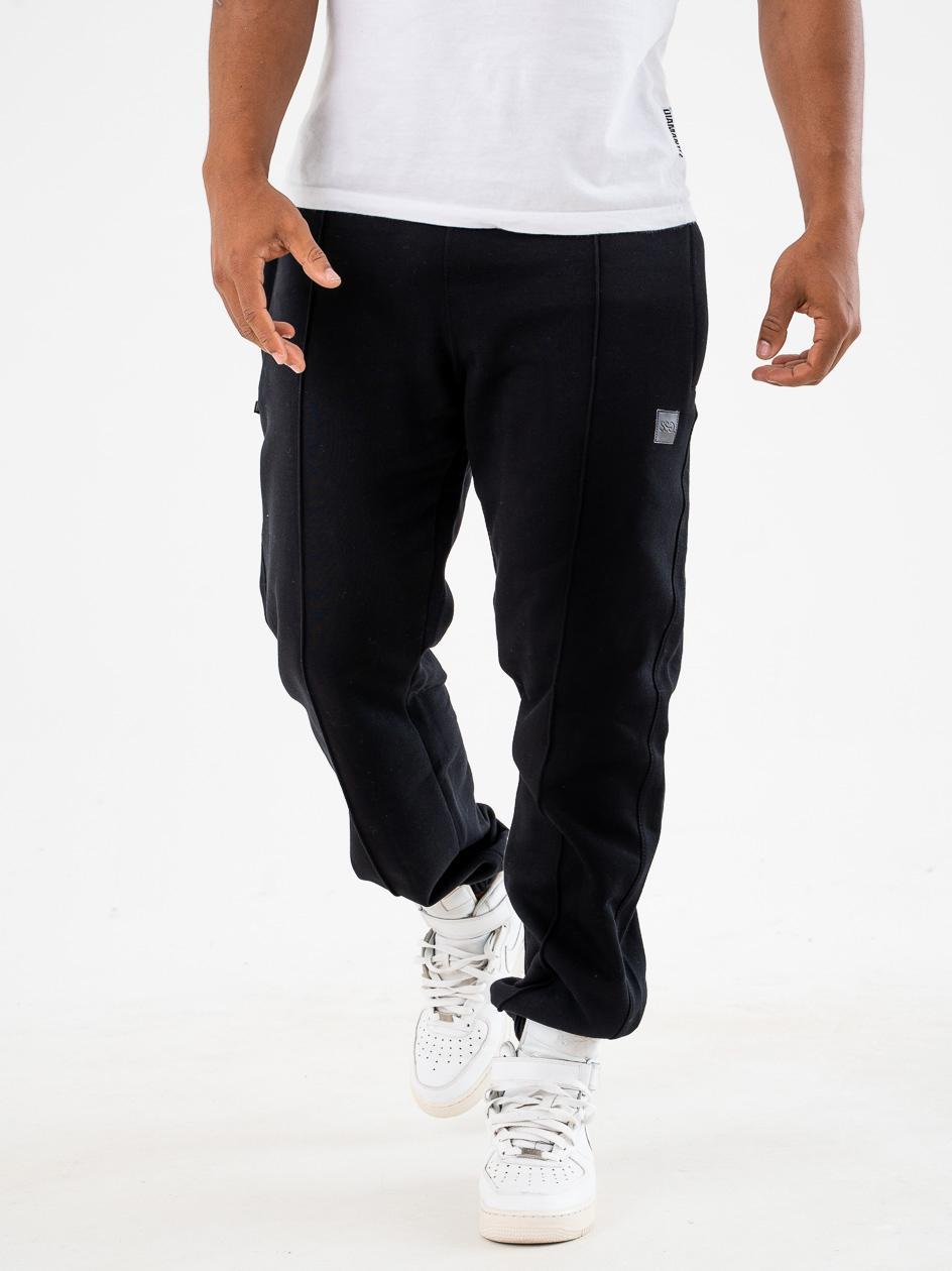 Spodnie Dresowe Regular SSG Vertical Line Czarna