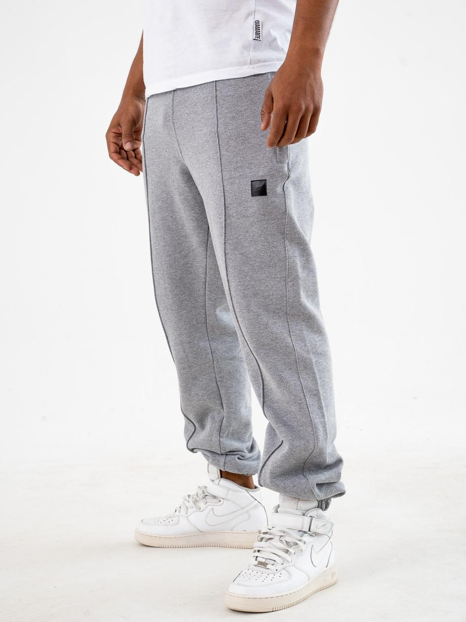 Spodnie Dresowe Regular SSG Vertical Line Szare