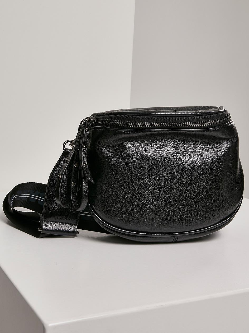 Damska Torebka Urban Classics Imitation Leather Crossover Bag TB2938 Czarna