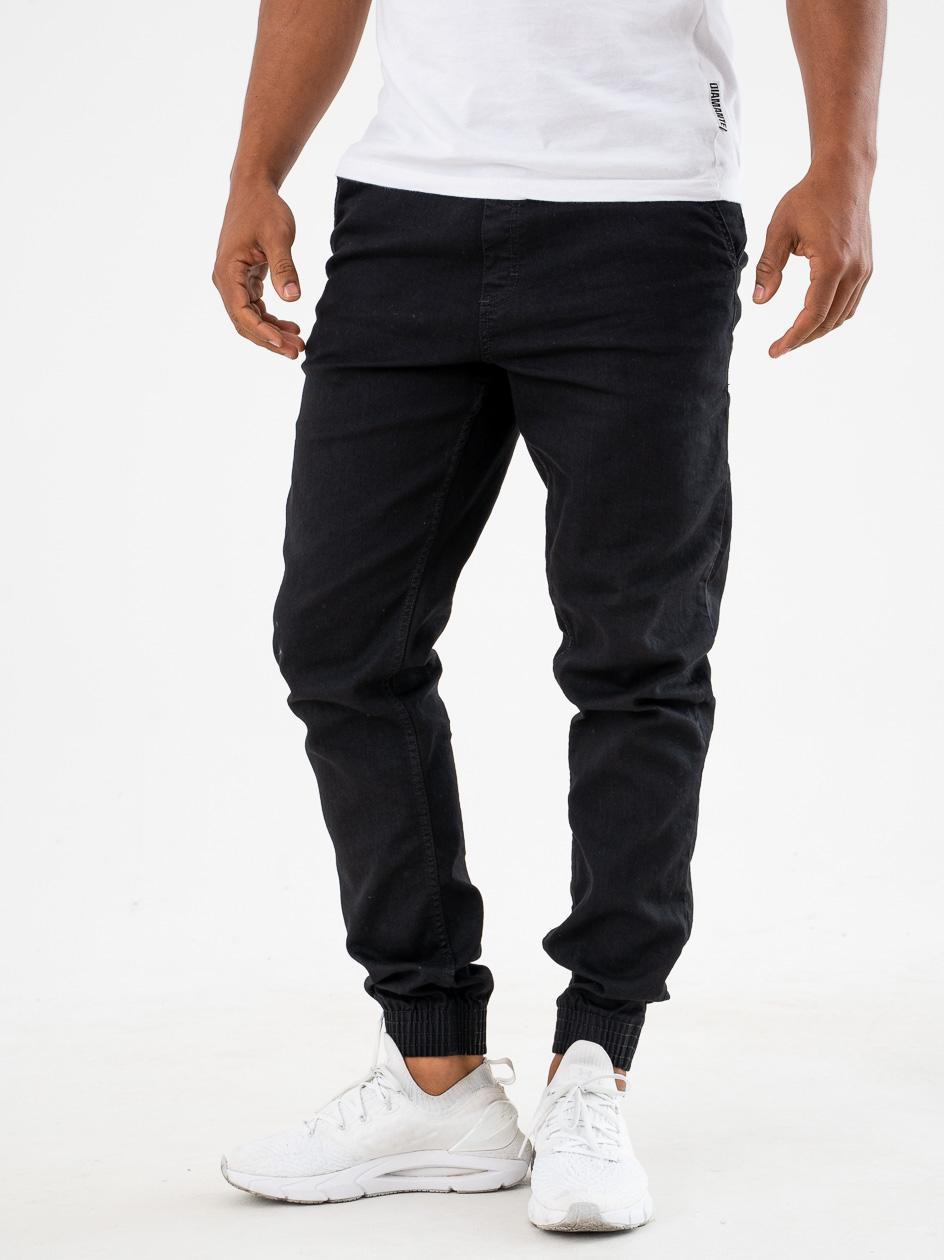 Spodnie Jeansowe Jogger Slim SSG One Pocket Classic Czarne
