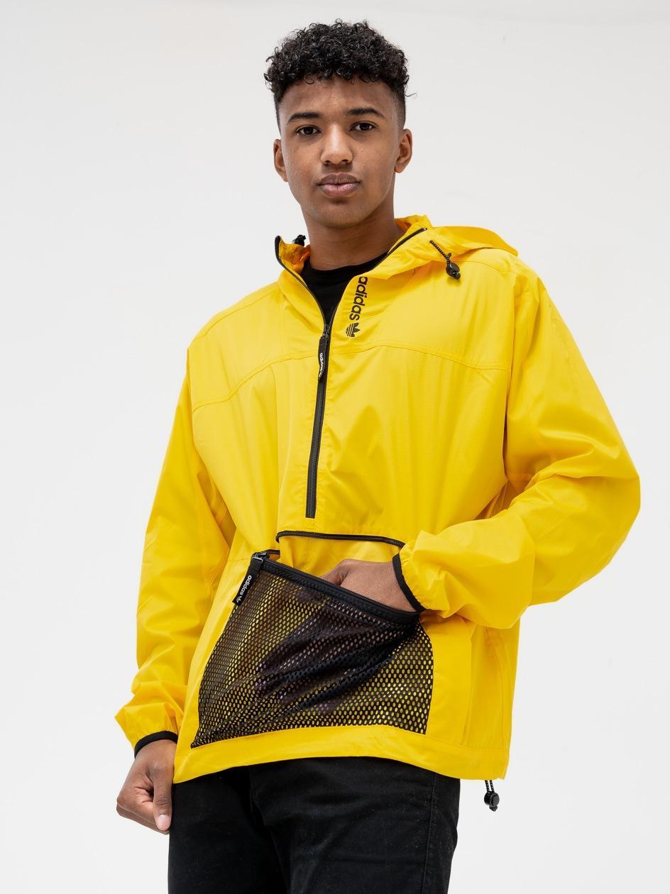 Kurtka Wiatrówka Adidas Orginals ADV Arch Anorak Żółta