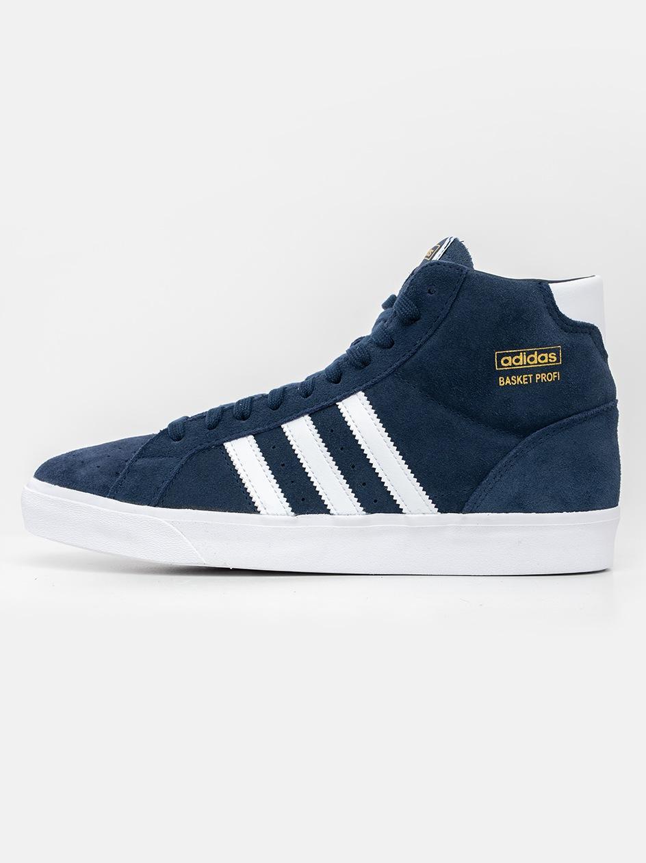 Buty Sportowe adidas Originals Basket Profi Czarne / Żółte / Białe