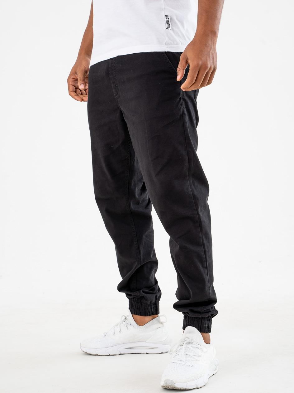 Spodnie Materiałowe Jogger Slim SSG Skin Czarne