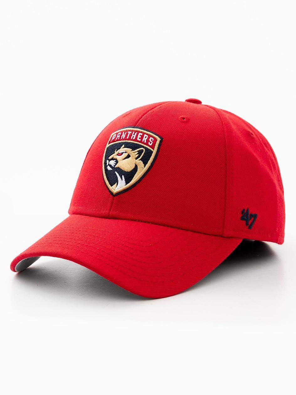 Czapka Z Daszkiem Dad Hat 47 Brand Florida Panthers MLB MVP Czerwona