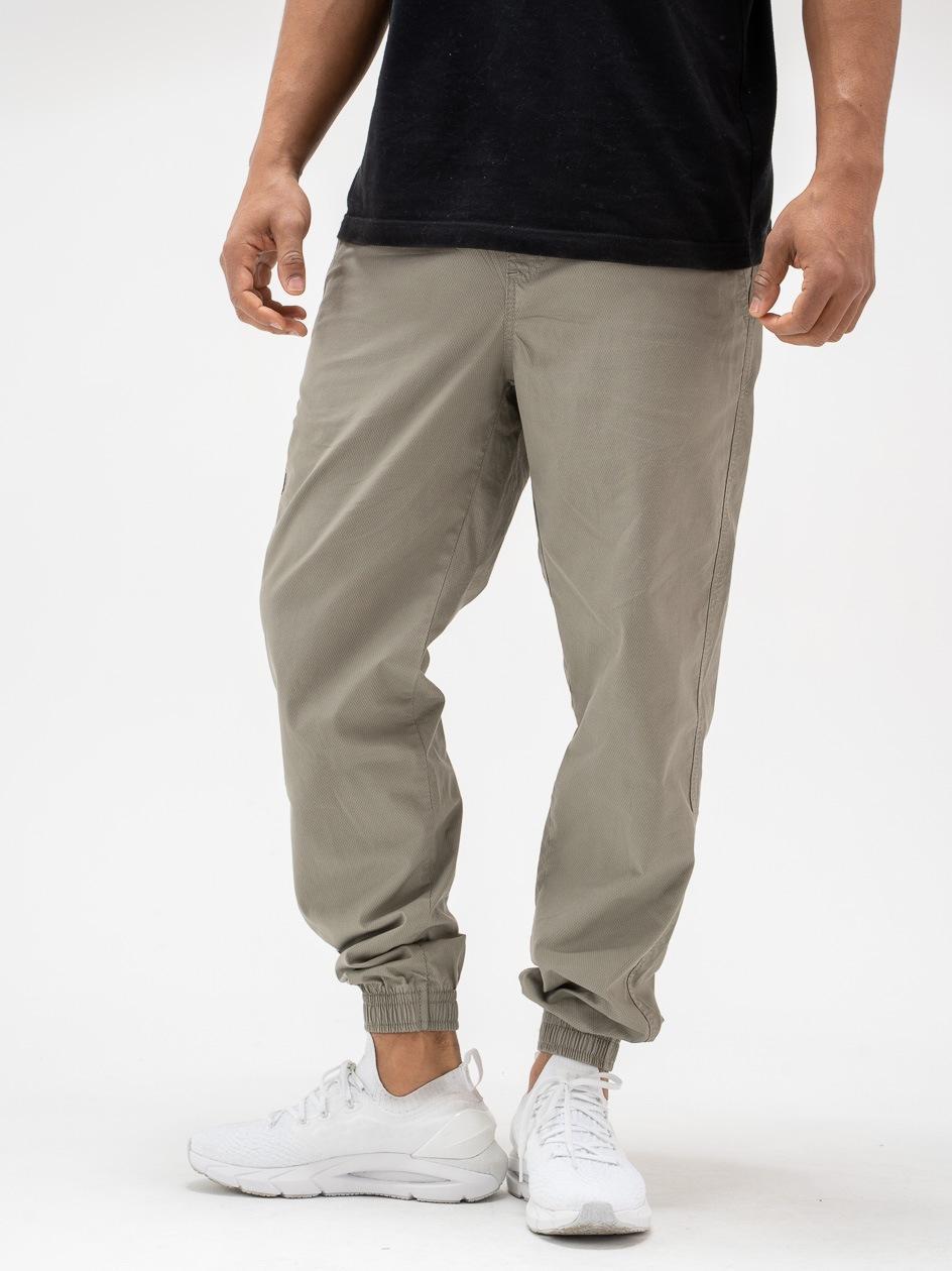 Spodnie Jogger Jigga Crown Wafer Oliwkowe