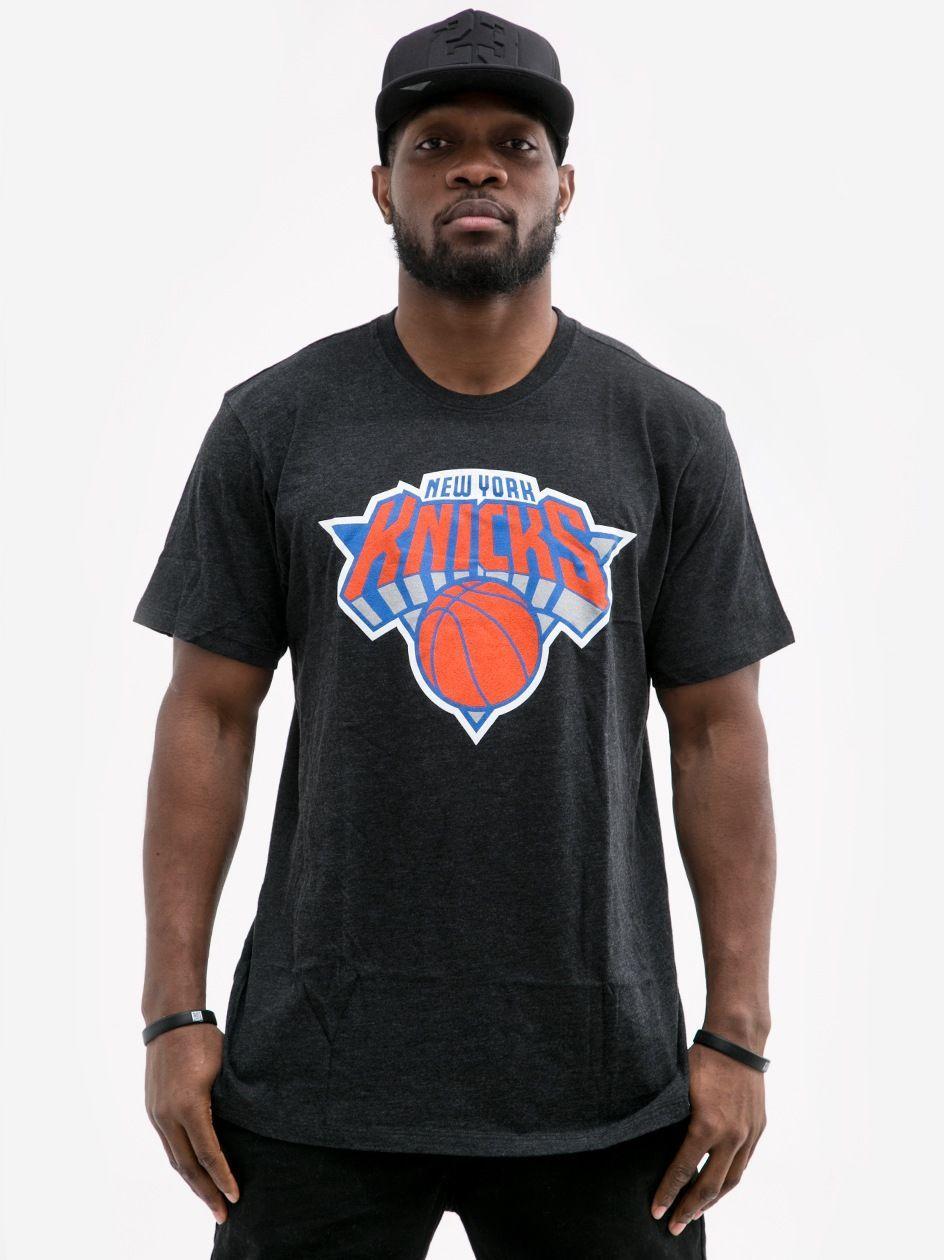 Koszulka Z Krótkim Rękawem 47 Brand NBA New York Knicks Club Czarna