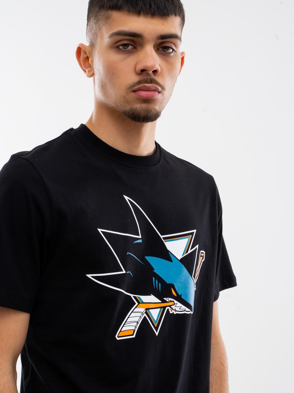 Koszulka Z Krótkim Rękawkiem 47 Brand San Jose Sharks Imprint Echo Czarna copy