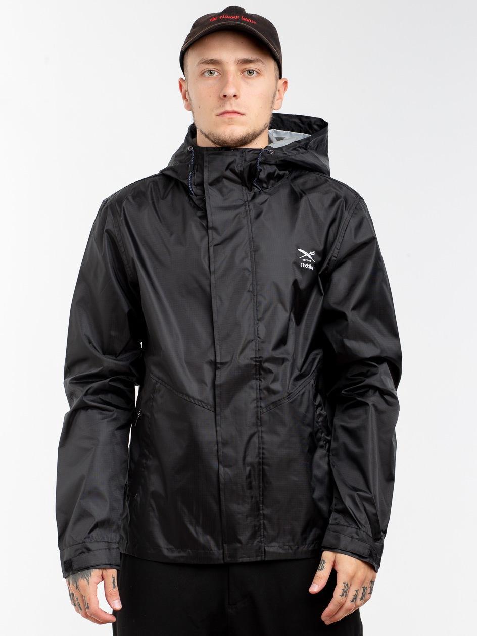 Tech Rain Jacket Black Black