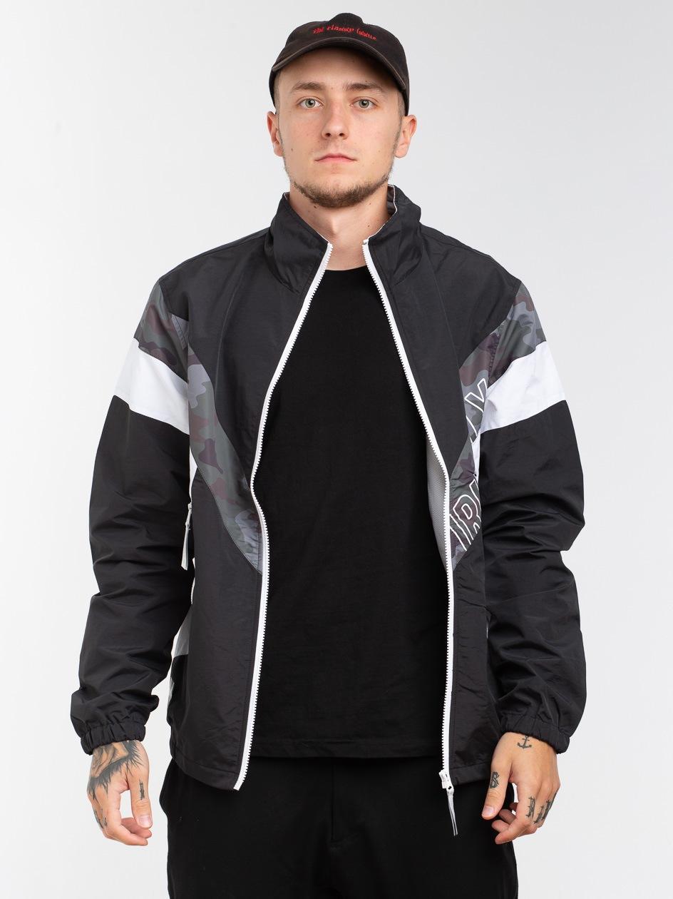 Sport Jacket Black White Camo