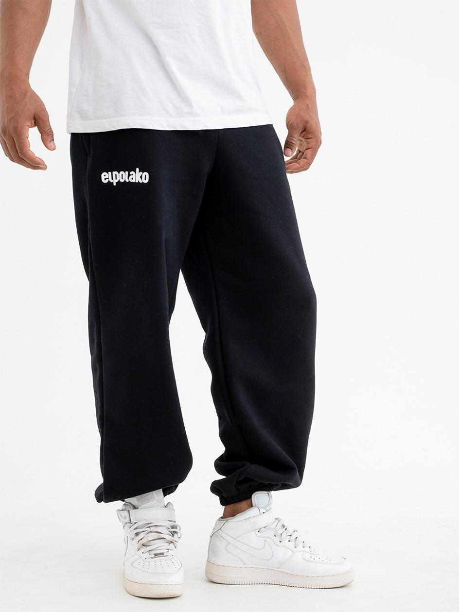 Spodnie Dresowe Baggy El Polako Classic Czarne