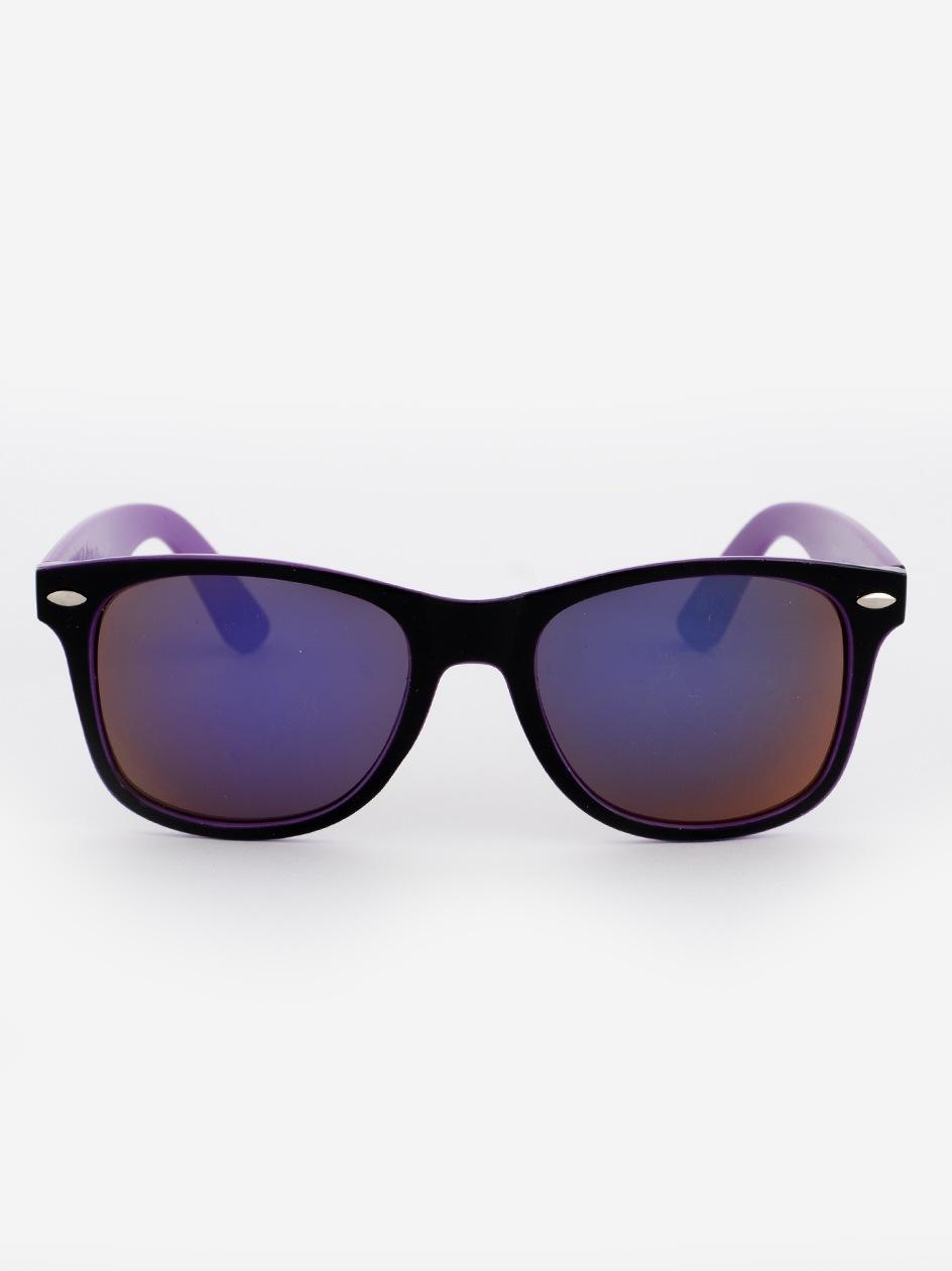 Okulary Przeciwsłoneczne Jigga Wear Name Contrast Czarne / Fioletowe