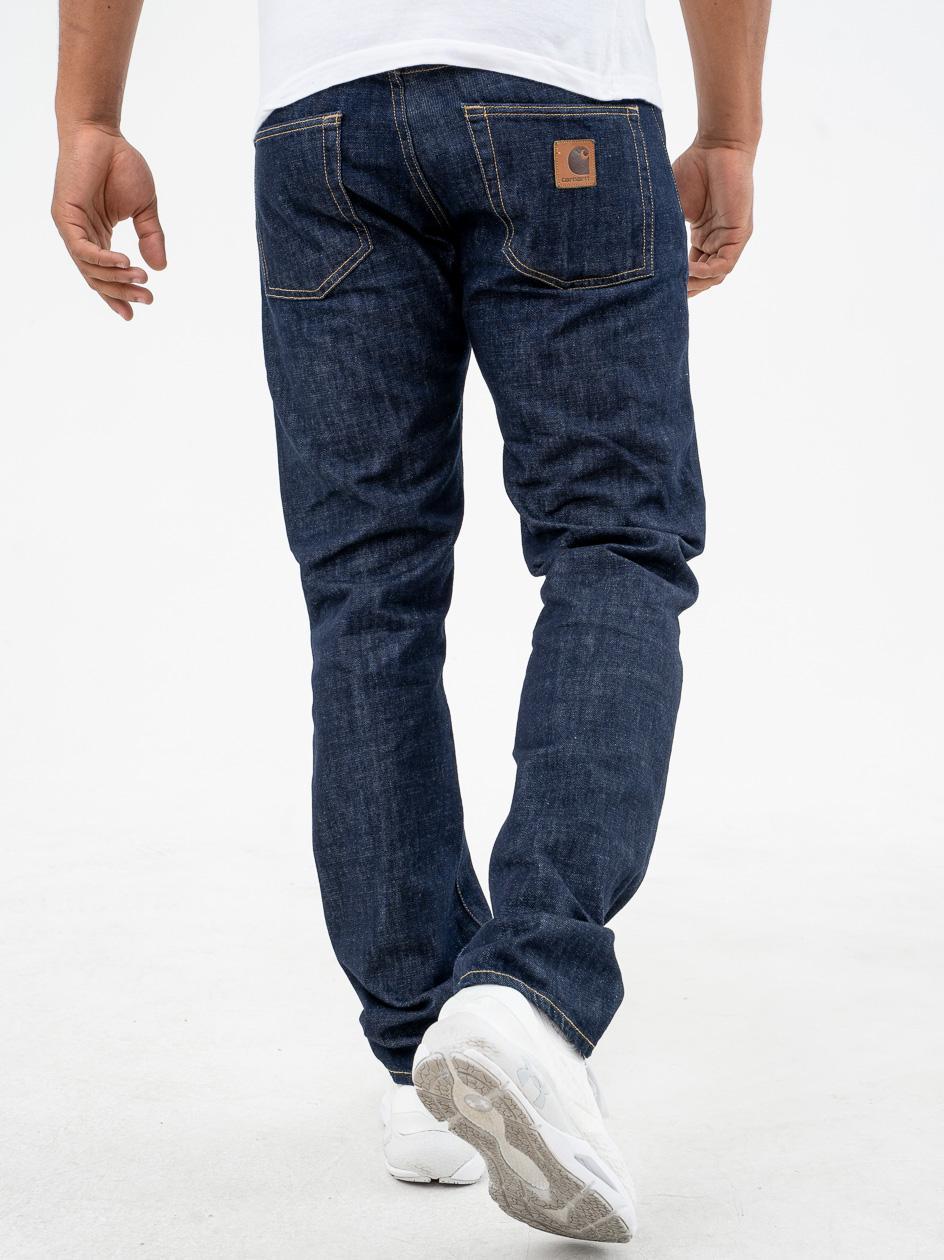Spodnie Jeansowe Carhartt Klondike Edgewood Cotton Ciemne Niebieskie