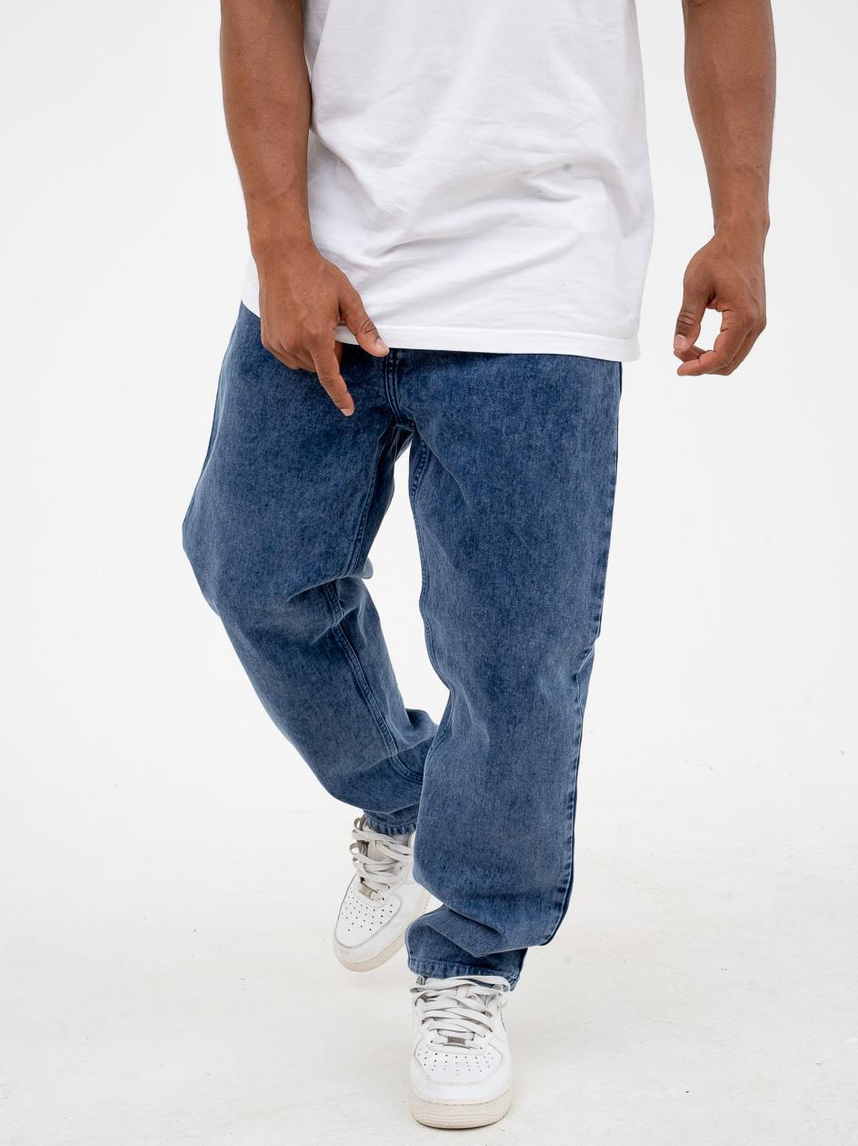 Spodnie Jeansowe Carhartt Newel Parkland Organic Cotton Niebieskie