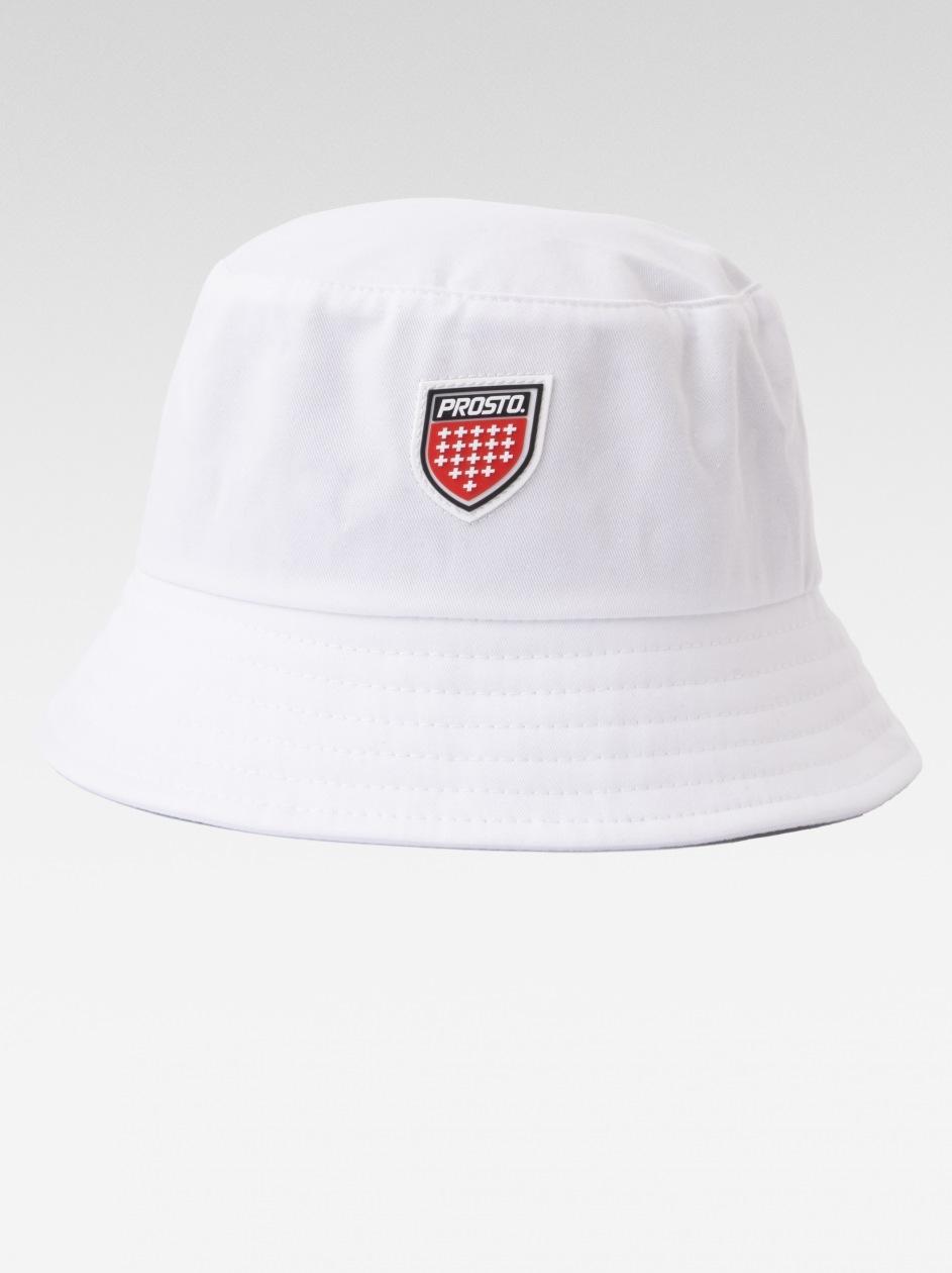 Bucket Hat Prosto Hoyle Biały