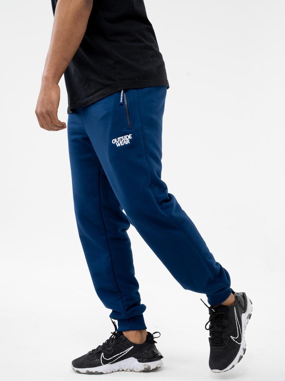 Spodnie Dresowe Outsidewear Embro Ciemne Niebieskie