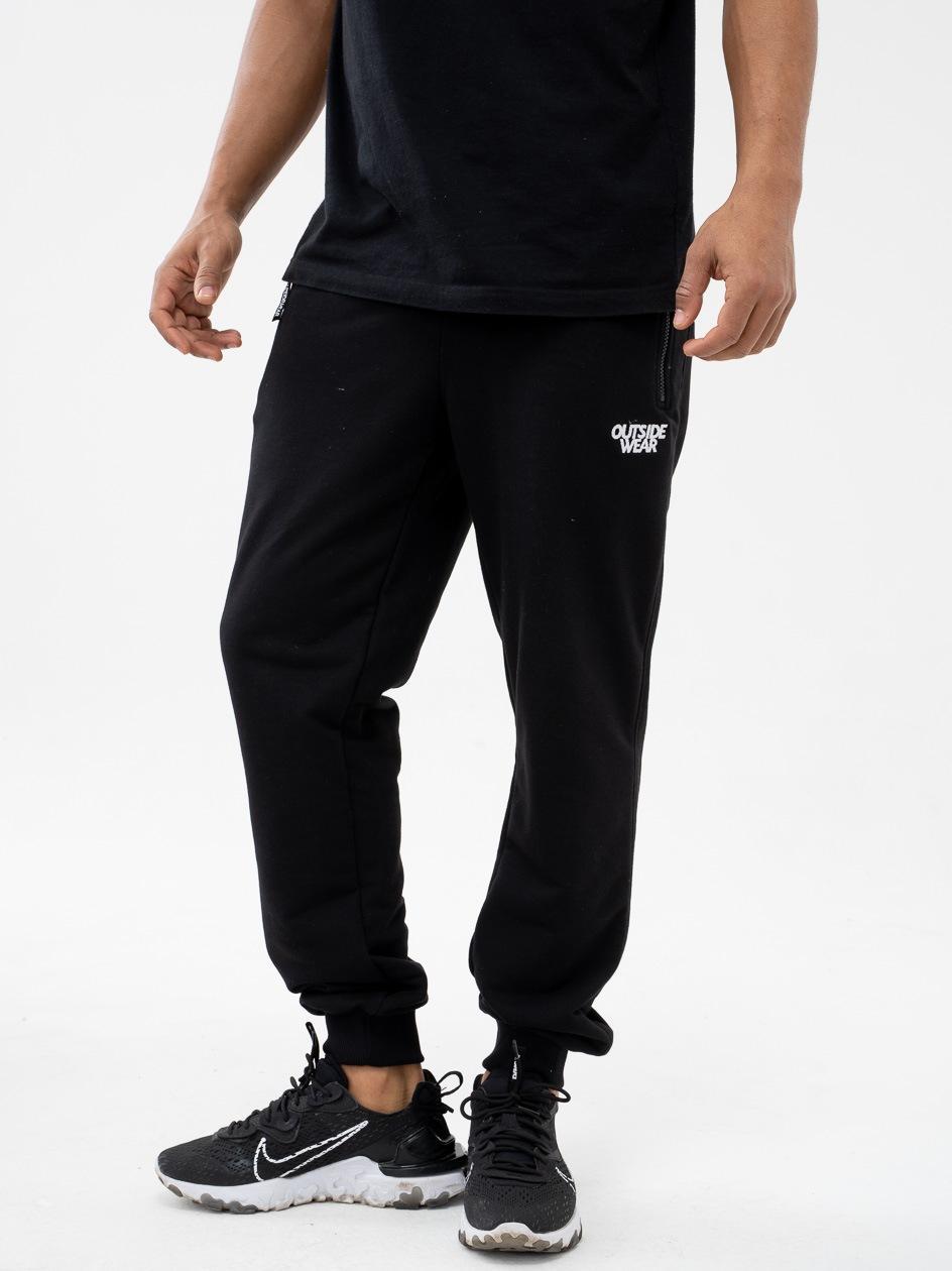 Spodnie Dresowe Outsidewear Embro Czarne