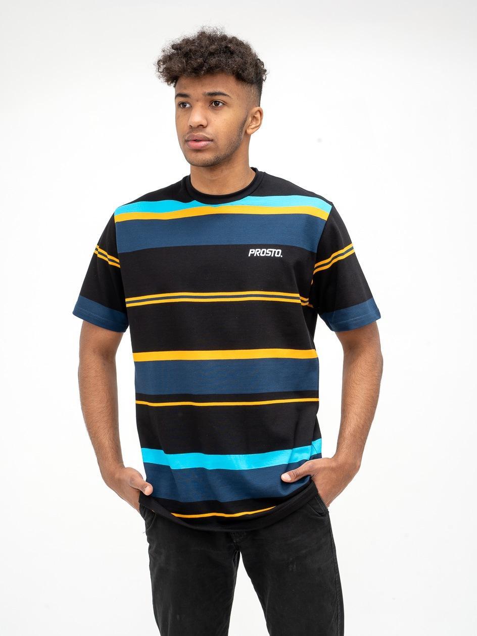 Koszulka Z Krótkim Rękawem Prosto Line Czarna